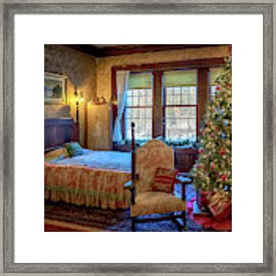 Glensheen Chester's Bedroom Framed Print by Susan Rissi Tregoning