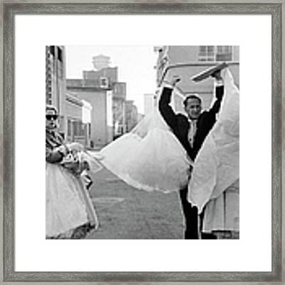 Grace Kelly Framed Print by Allan Grant