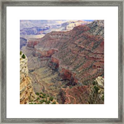 Grand Canyon View 4 Framed Print by Dawn Richards