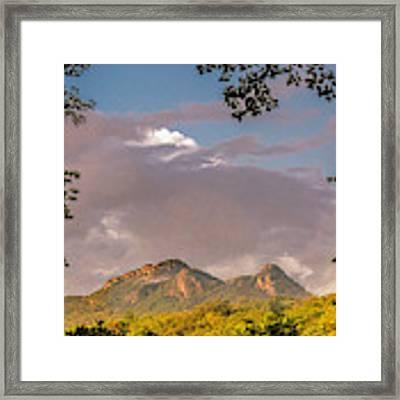 Grandfather Mountain Framed Framed Print by Ken Barrett