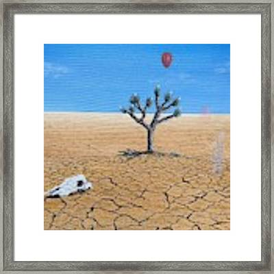 Happy Little Tree Framed Print by Kevin Daly