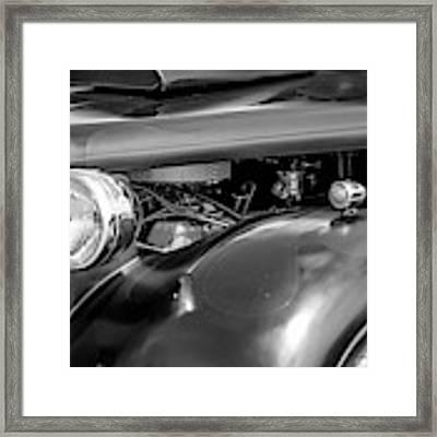 Hot Rod Engine Framed Print by Elliott Coleman