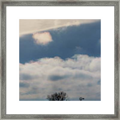 Iridescent Clouds 02 Framed Print by Rob Graham