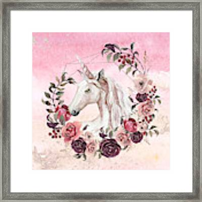 Irresistible Force Framed Print by Bee-Bee Deigner