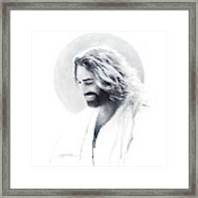 Joy Of The Lord Vignette Framed Print by Greg Olsen
