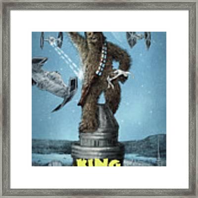 King Wookiee Framed Print by Eric Fan