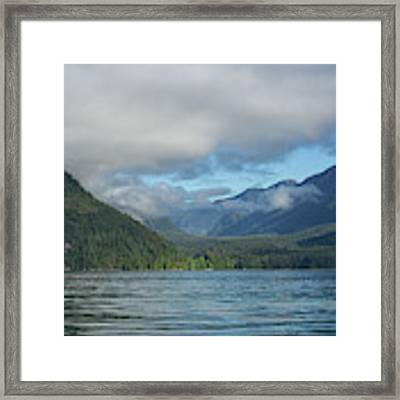 Knight Inlet Framed Print by Randy Hall