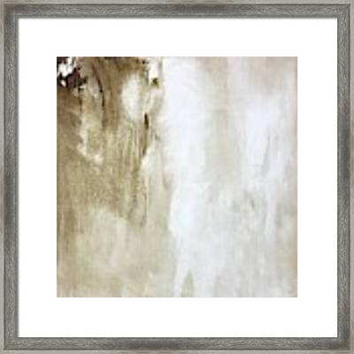Less Than Two Framed Print by Laurie Maves ART