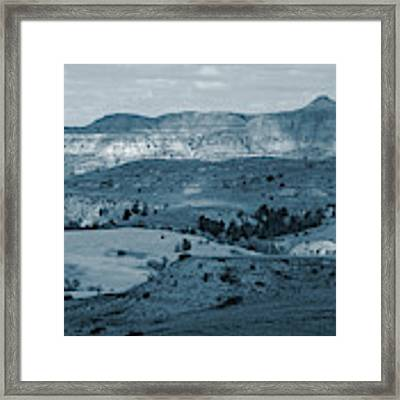 Light And Shadow In West Dakota Framed Print by Cris Fulton