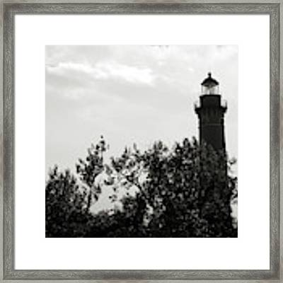 Lighthouse Framed Print by Michelle Wermuth