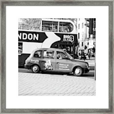 London  Framed Print by Jenny Potter
