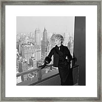 Lucille Ball Framed Print by Hulton Archive
