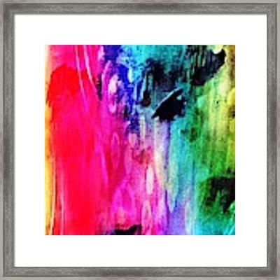 Luxe Splash  Framed Print by Rachel Maynard