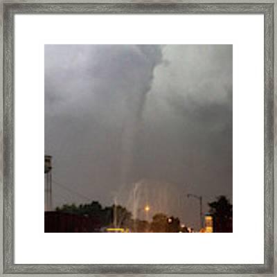 Mangum Oklahoma Tornado 021 Framed Print by Dale Kaminski