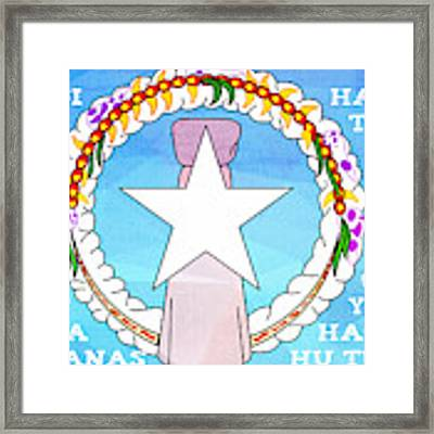 Marianas Anthem Framed Print by Michelle Dallocchio