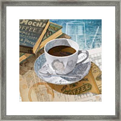 Morning Coffee Framed Print by Clint Hansen
