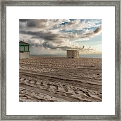 Morning In Miami Framed Print by Alison Frank