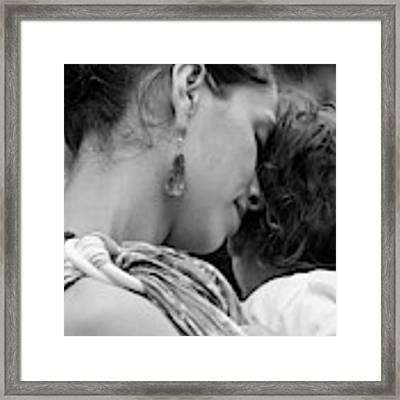 Mother And Child Framed Print by Catherine Sobredo