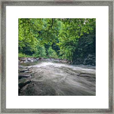 Mountain Stream In Summer #1 Framed Print by Tom Claud