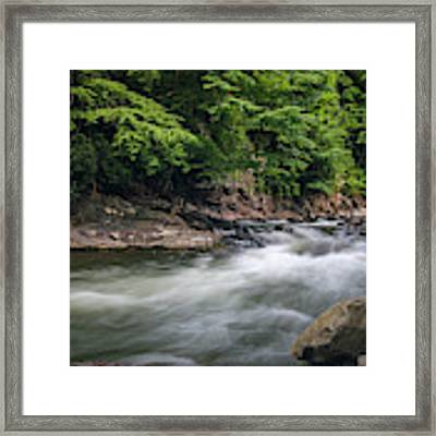 Mountain Stream In Summer #3 Framed Print by Tom Claud