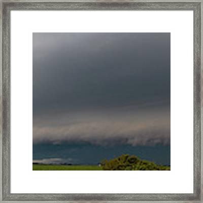Nebraska Supercell 004 Framed Print by Dale Kaminski