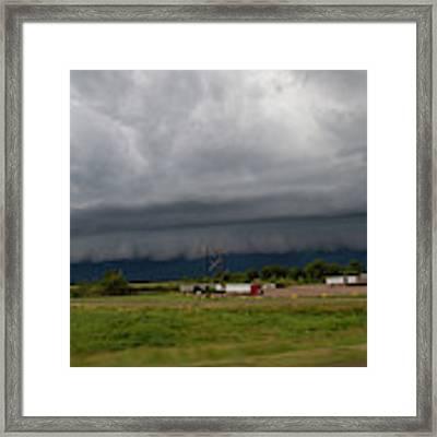 Nebraska Supercell 009 Framed Print by Dale Kaminski