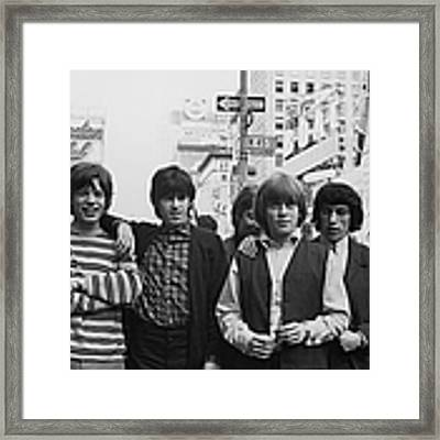 New York Stones Framed Print by Express Newspapers