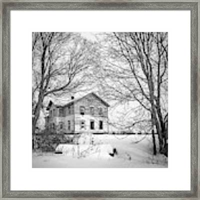 No One Home Framed Print by Kendall McKernon
