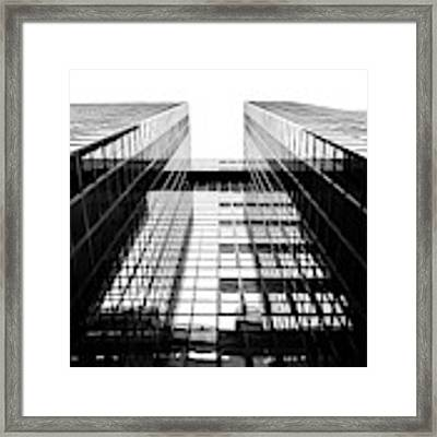 Northern Shell Building Black And White Framed Print by Tim Gainey