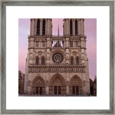 Notre Dame Cathedral Dawn Framed Print by Jemmy Archer