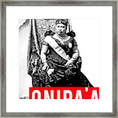 Onipaa Framed Print by MB Dallocchio