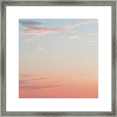 Outer Banks Sailboat Sunset Framed Print by Nathan Bush