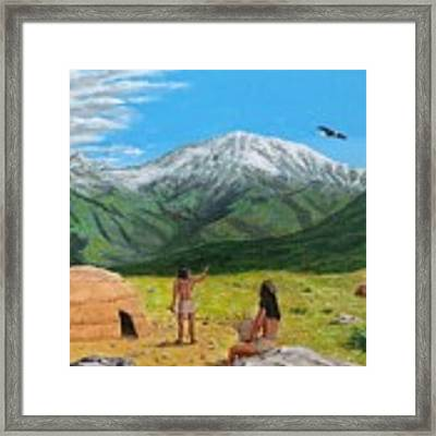 Paauw Snow Framed Print by Kevin Daly