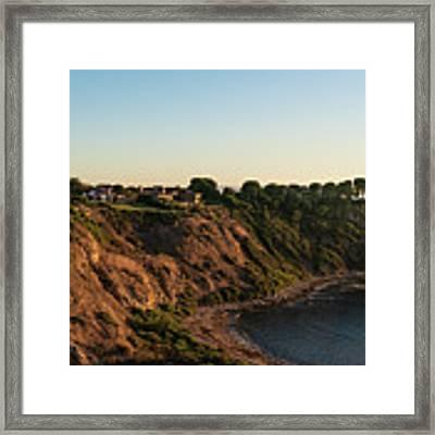 Palos Verdes Sundown Framed Print by Michael Hope