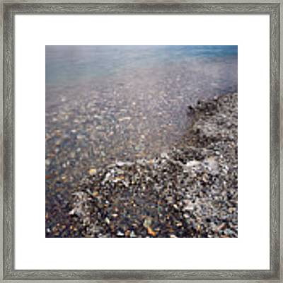 Pangong Tso Framed Print by Whitney Goodey