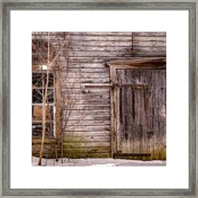Patina Framed Print by Kendall McKernon