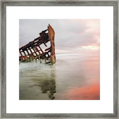 Peter Iredale Shipwreck Framed Print by Nicole Young