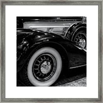 Pierce Arrow Circa. 1937 Framed Print by Michael Hope