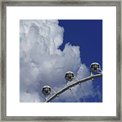 Pod Cluster 2 Framed Print by Skip Hunt
