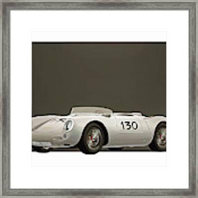 Porsche 550a Spyder 1956 Framed Print by Jan Keteleer
