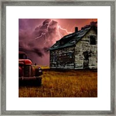Prairie Noir Framed Print by Bryan Smith