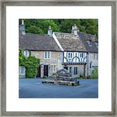 Pre-dawn In Castle Combe Framed Print by Brian Jannsen