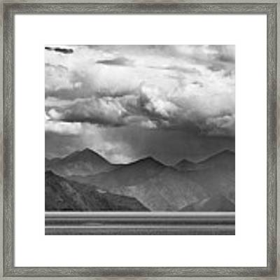 Rains In China Framed Print by Whitney Goodey
