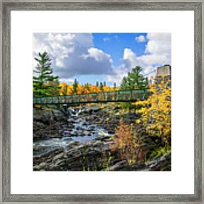 River Crossing Framed Print by Scott Kemper