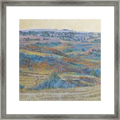 Russet Ridge Reverie Framed Print by Cris Fulton