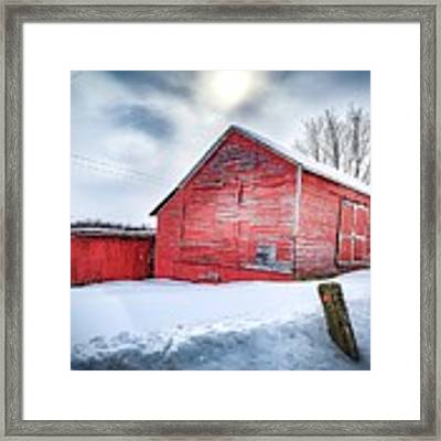 See Red. Framed Print by Kendall McKernon