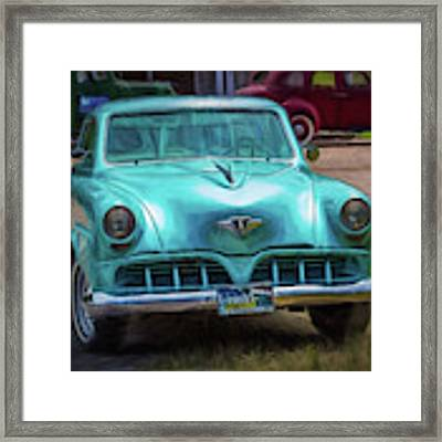 Shades Of Yesteryear Framed Print by Barry Jones