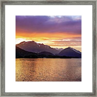 Sitka Sunrise Framed Print by Dawn Richards