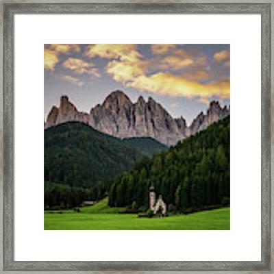 St Johann Sunrise Framed Print by James Billings