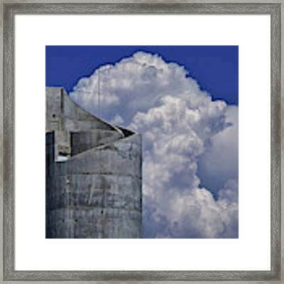 Stacked Framed Print by Skip Hunt